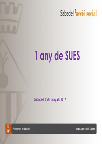 SERVEI D'URGÈNCIES I EMERGÈNCIES SOCIALS - 1 ANY