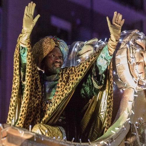 Vapor Reial, Cavalcada, Ambaixador i carters reials