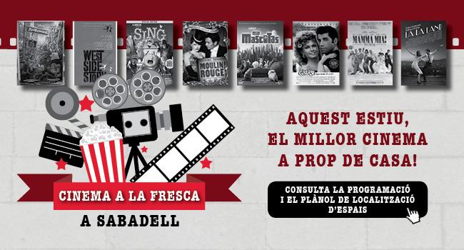 Cinema a la fresca a Sabadell