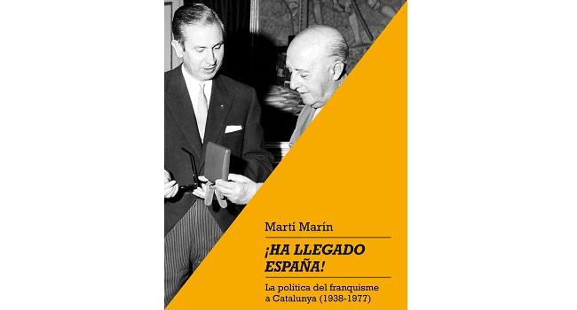 Fotografia de l'activitat ¡HA LLEGADO ESPAÑA! LA POLÍTICA DEL FRANQUISME A CATALUNYA (1938-1977). CONFERÈNCIA