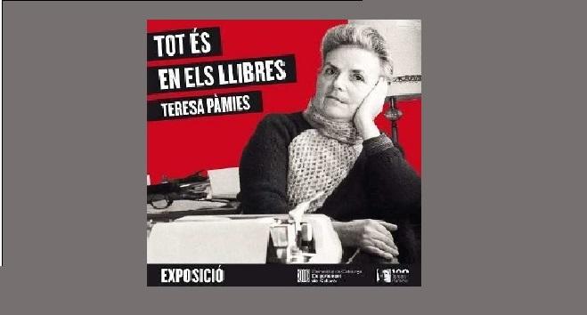 Fotografia de l'activitat TOT ÉS EN ELS LLIBRES, TERESA PÀMIES. EXPOSICIÓ