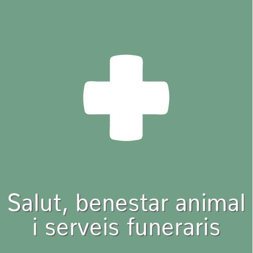 Salut, benestar animal i serveis funeraris