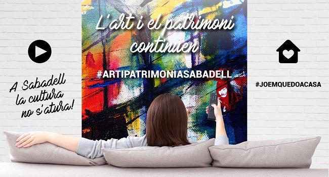 Fotografia de l'activitat #ARTIPATRIMONIASABADELL  A INTERNET