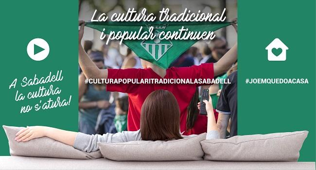 Fotografia de l'activitat #CULTURAPOPULARITRADICIONALASABADELL  A INTERNET
