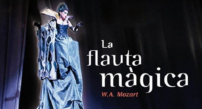 Fotografia de l'activitat LA FLAUTA MÀGICA, DE W. A. MOZART. ÒPERA