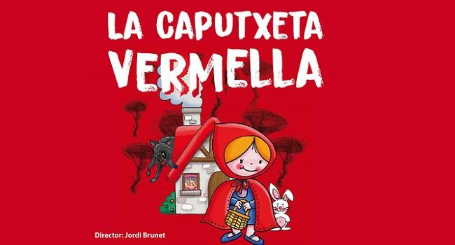 Fotografia de l'activitat LA CAPUTXETA VERMELLA. TEATRE