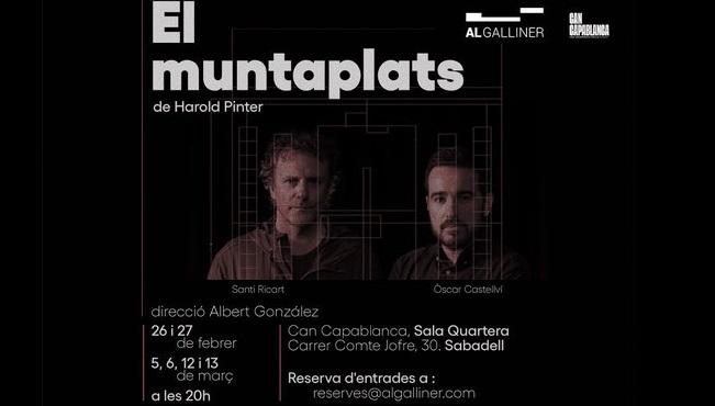 Fotografia de l'activitat EL MUNTAPLATS. TEATRE