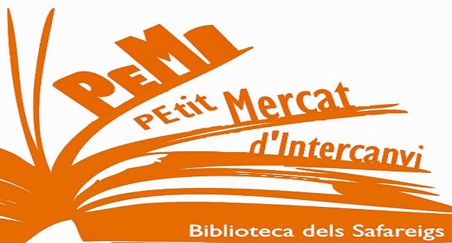 Fotografia de l'activitat PEMI: PETIT MERCAT D'INTERCANVI DE NOVEL·LES. FIRA
