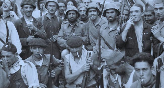 Fotografia de l'activitat MÉS ENLLÀ DE LES TRINXERES (1936-1939). EXPOSICIÓ