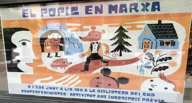 Fotografia de l'activitat EL POPIS EN MARXA: UN GUIRIGALL DE CONTES. HORA DEL CONTE