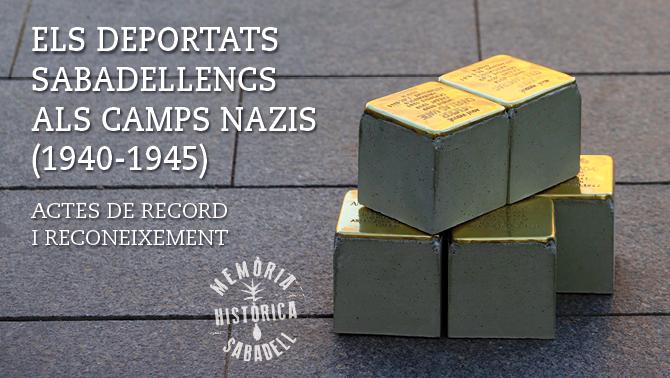 Deportats sabadellencs a camps nazis